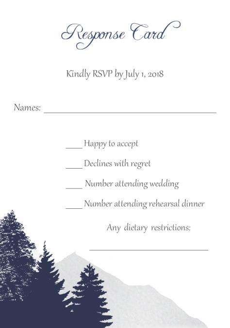 Response Card 1